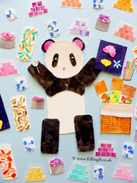 Panda in Sweetshop